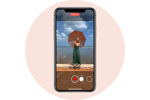 records videos apple iphone