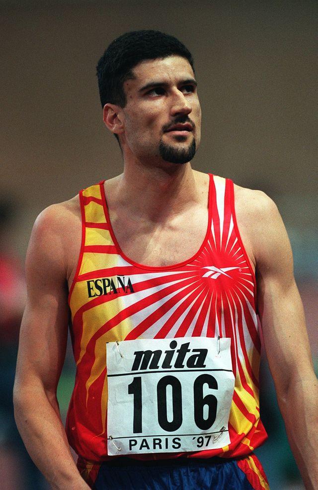 el atleta español arturo ortiz tras un salto de altura tiene el récord de españa de atletismo más longevo