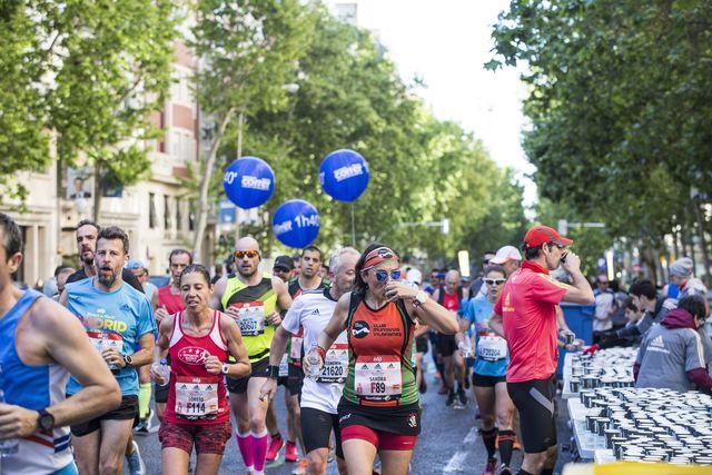 recorrido del maratón de madrid edp rock 'n' roll running series madrid 2021