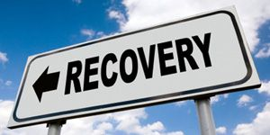 Recovery Sign with 300x150