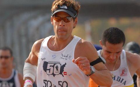 Dean Karnazes Running NYC Marathon