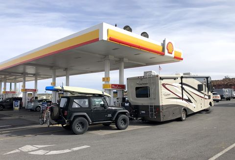 recreational vehicle towing