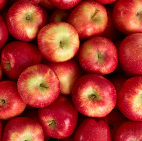 Red Apples At Market