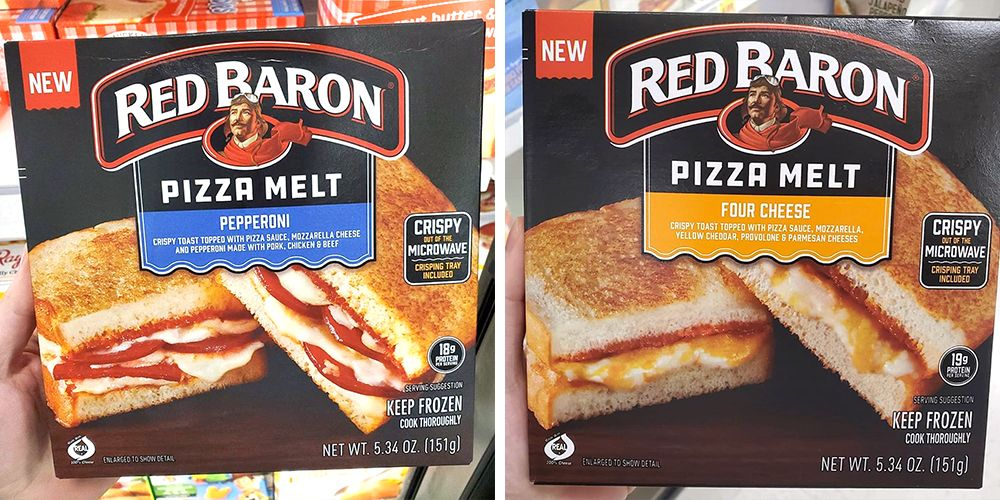 Red Baron's New Pizza Melts Turn Your Slice Into A Panini
