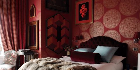 11 Unique Red Bedroom Ideas - Red Decor Ideas For Bedroom