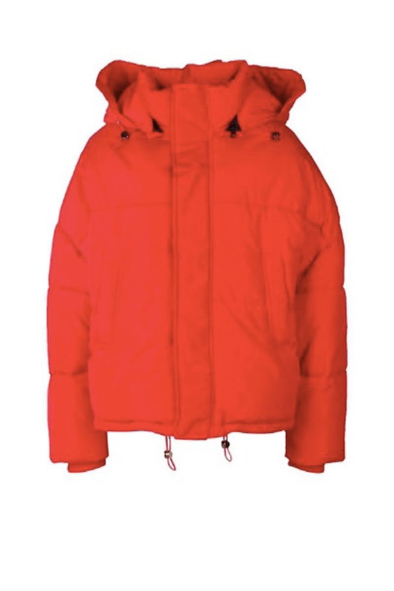 red puffa jacket - puffer jackets for women 2018