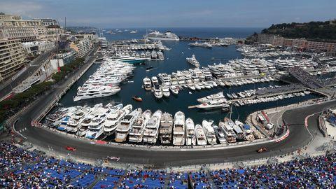 Monaco Grand Prix - Practice Session - Circuit of Monte Carlo