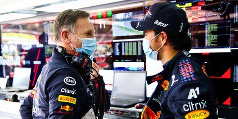 Christian Horner aplaude la carrera de Checo Pérez en Estiria, pese al error en los pits