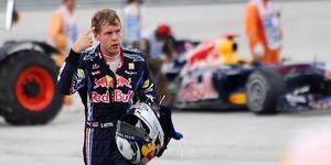 Red Bull's German driver Sebastian Vette