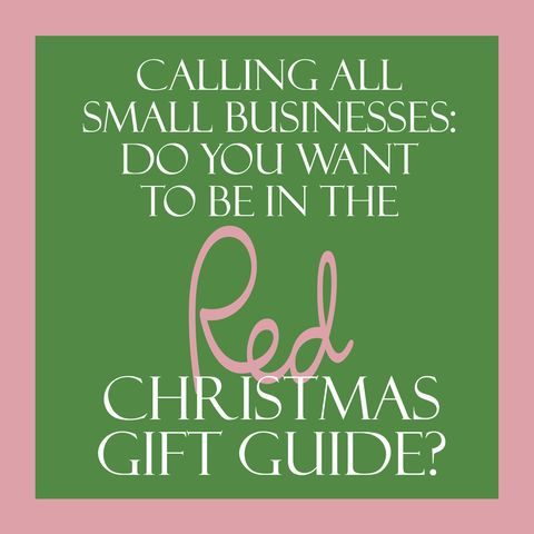 red christmas gift guide