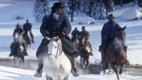 Horse, Bridle, Halter, Rein, Animal sports, Recreation, Snow, Horse tack, Stallion, Pack animal,
