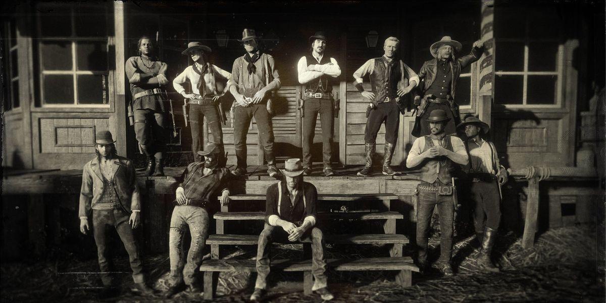 Red Dead Redemption 2: Rockstar Games pica a los jugadores con un álbum de  familia de los personajes