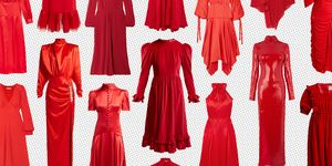 Red dresses to buy now for christmas
