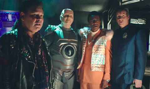 Red Dwarf The Promised Land trailer turns Lister into a god