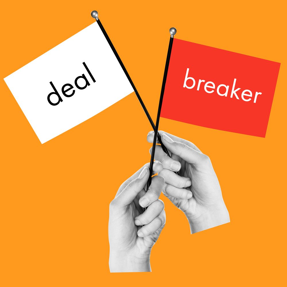 red flag or deal breaker questions