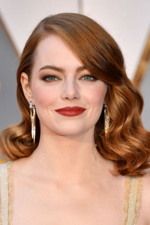 red hair color ideas emma stone