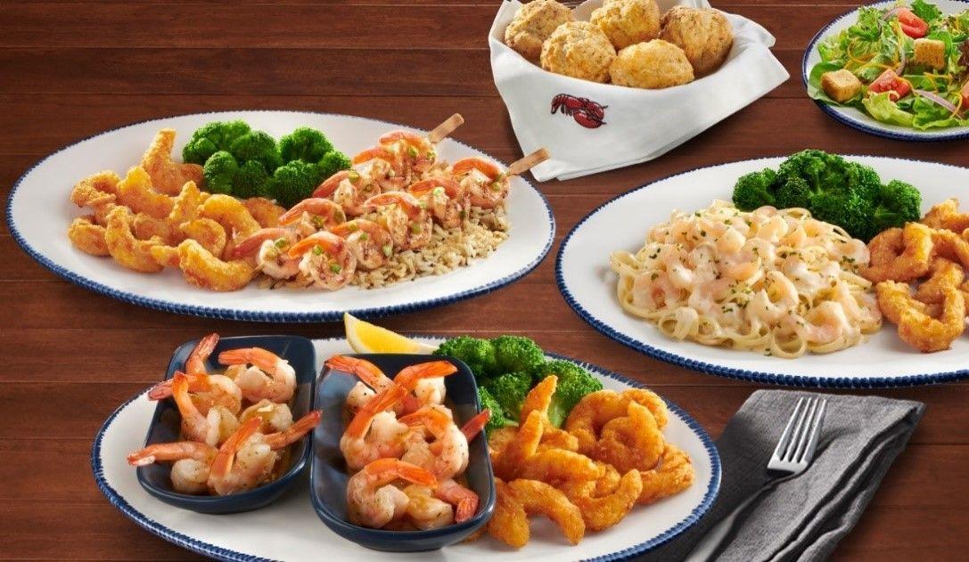 Red lobster endless shrimp dates