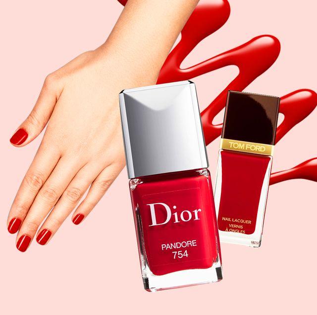 Nail polish, Nail, Red, Manicure, Nail care, Cosmetics, Finger, Hand, Beauty, Skin,