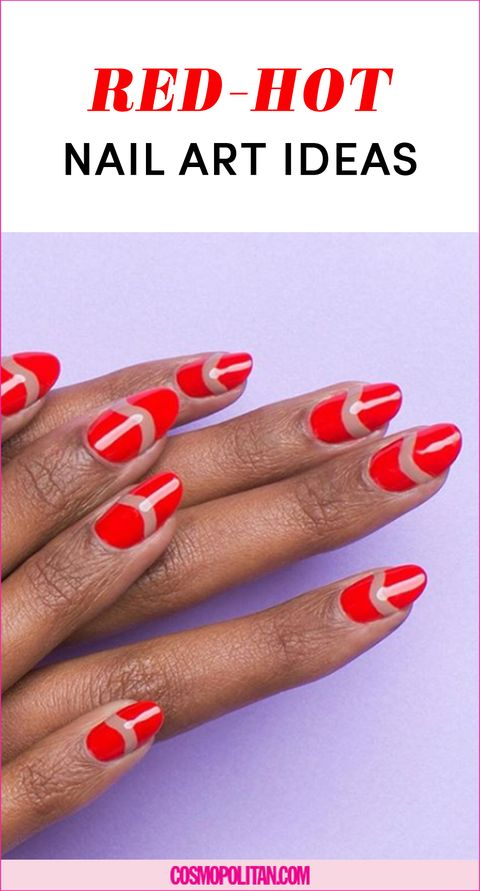16 Red Nail Art Designs Perfect For Valentines Day