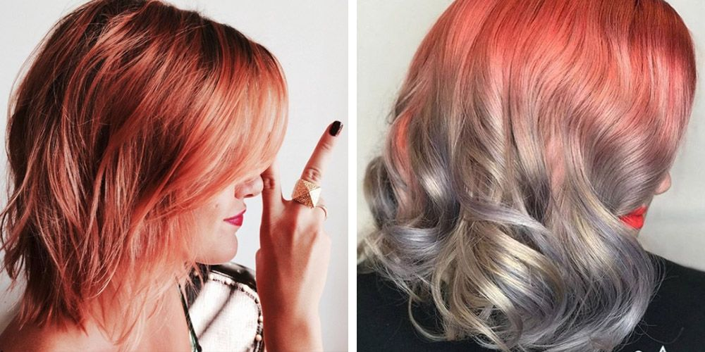 12 Cool Ombre Color Ideas For Red Hair Red Ombre Hairstyles