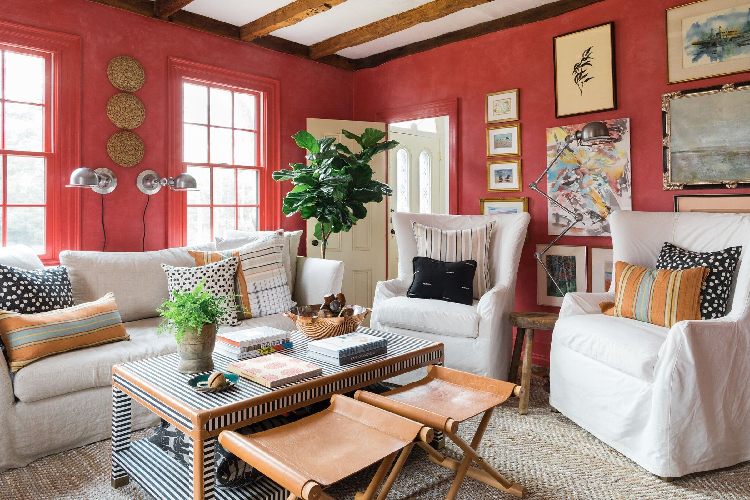 Top Designers Reveal Their Go To Red Paint Colors