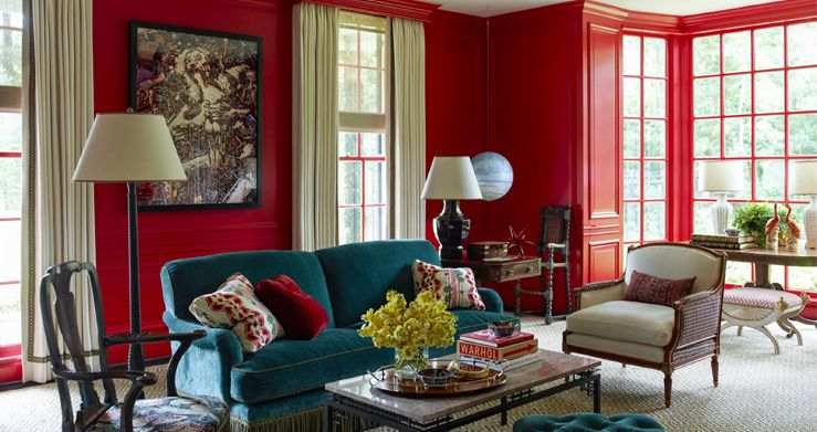 20 Best Red Paint Colors According To Designers