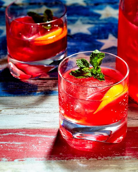 red rum punch