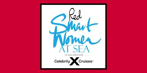 red smart women at sea 2021