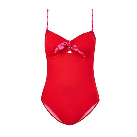 Swimwear UK - red swimsuit