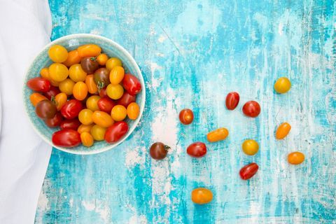 red vs yellow tomatoes health benefits