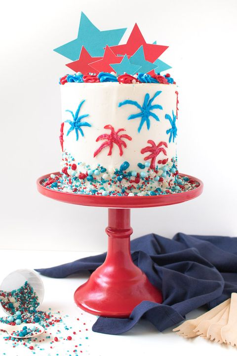 Admirable 39 Easy 4Th Of July Dessert Recipes Red White And Blue Fourth Funny Birthday Cards Online Necthendildamsfinfo