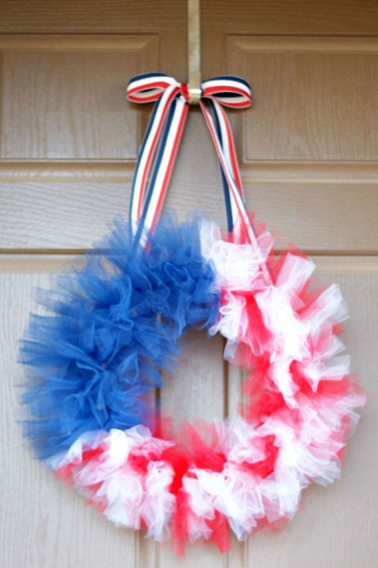 16 Diy 4th Of July Wreaths Easy Ideas For Fourth Of July Wreath Crafts