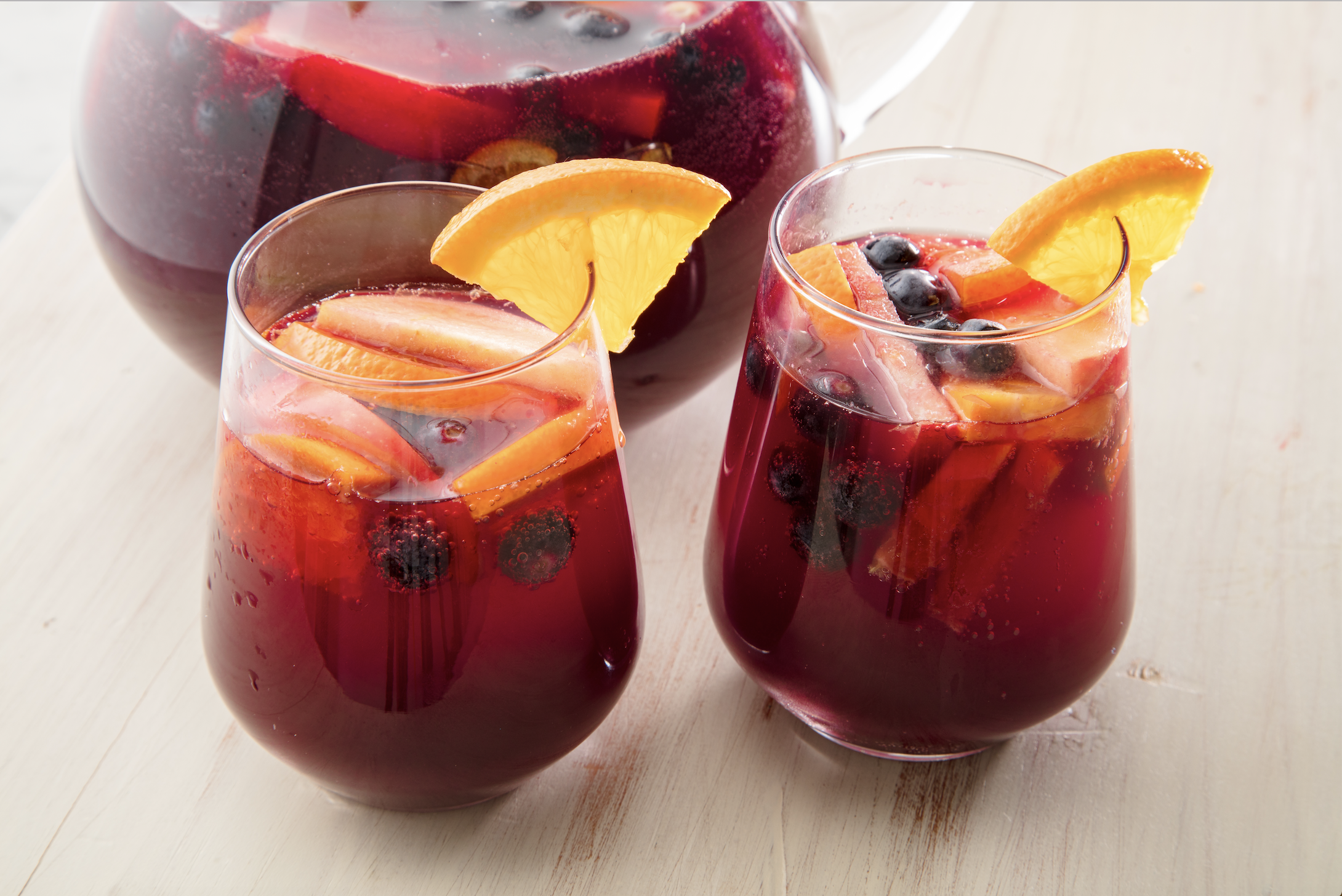 20 Winter Sangrias Your Christmas Party Needs