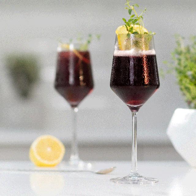 red wine spritz