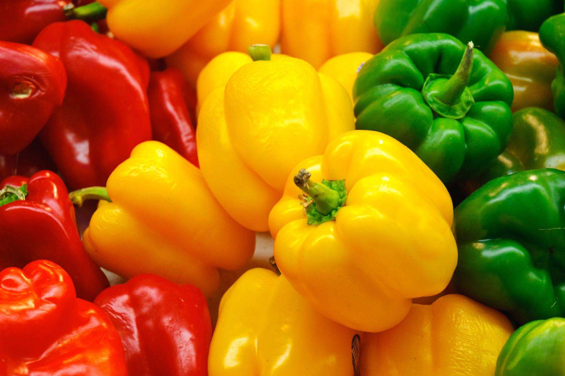 bell peppers vitamin C immune system