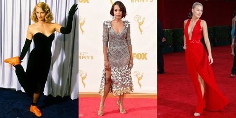 af0932199c6 25 Best Emmys Dresses of All Time - Top Emmy Awards Red Carpet Looks