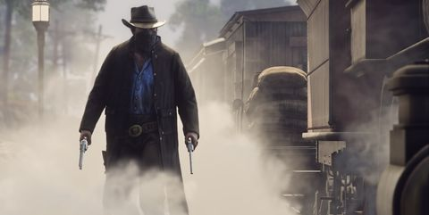 Standing, Gunfighter, Outerwear, Fictional character, Blizzard, Jacket, Movie, Pc game,