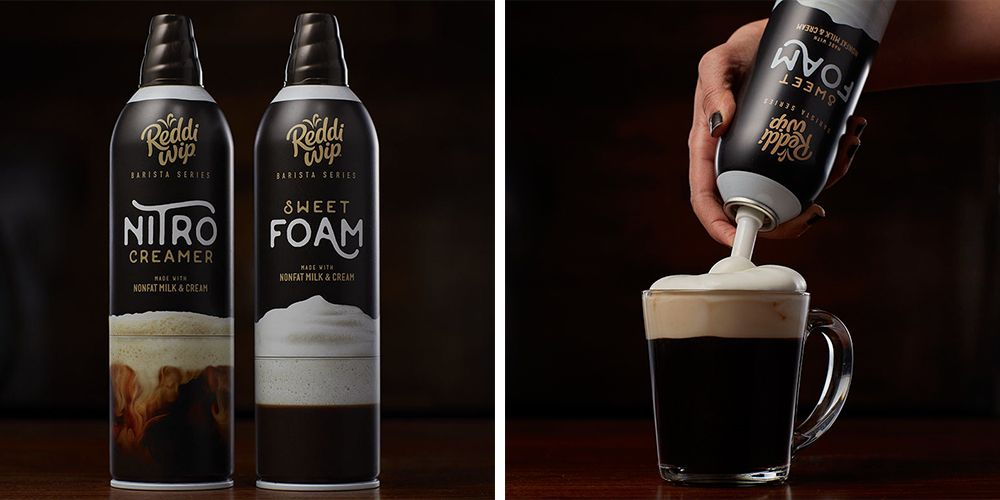 Reddi Wip S New Canned Foam Lets You Make Fancy Coffee