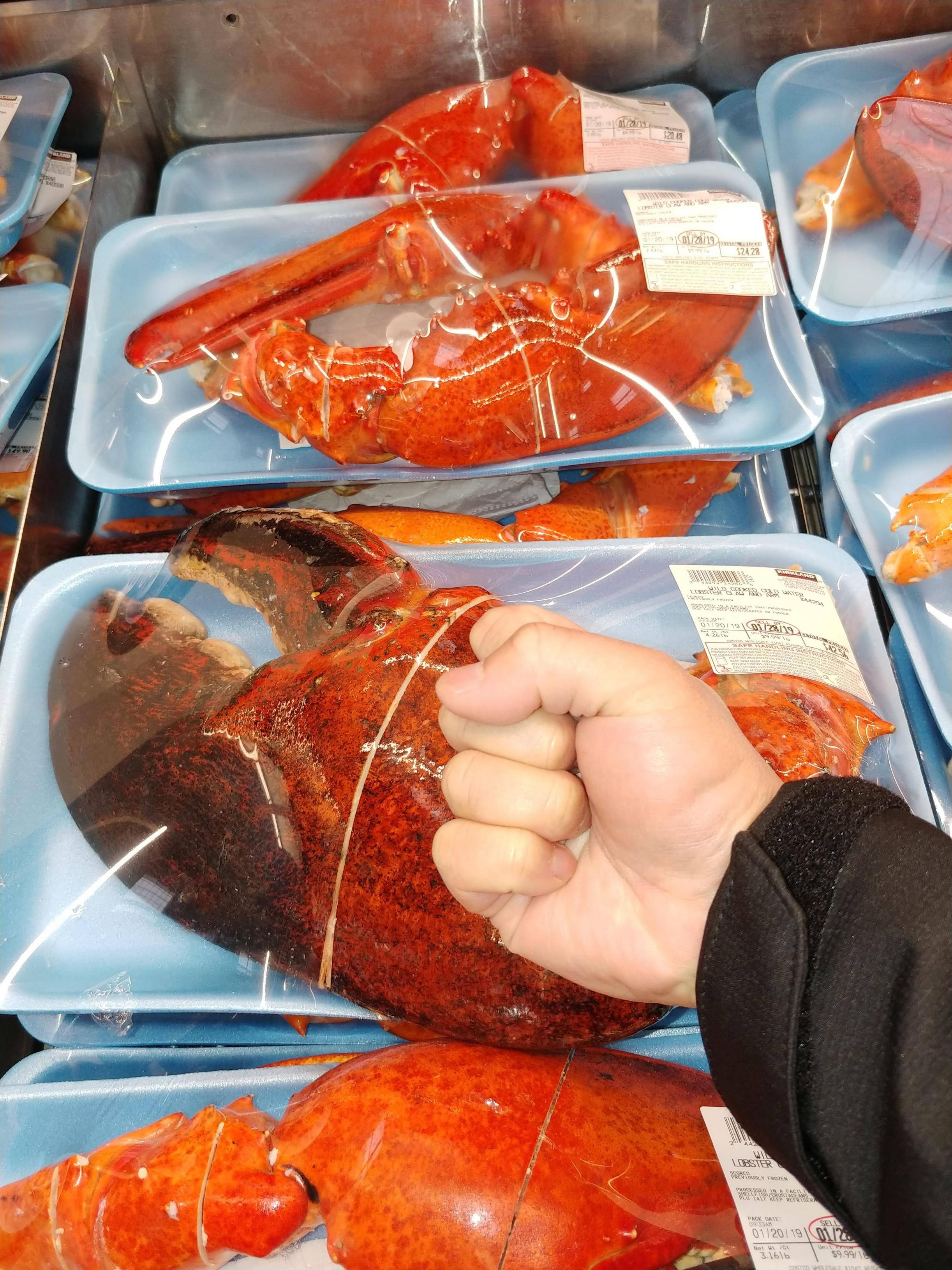 Select Costco Stores Have Massive 3-Pound Lobster Claws