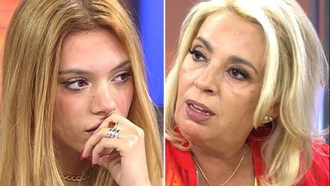 alejandra rubio, incrédula ante la actitud de su tía carmen borrego con kiko hernández en 'la última cena'