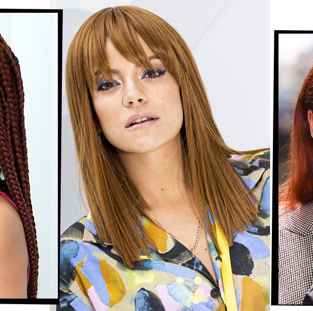 Red Hair Colour Ideas 31 Celebrity Redheads To Inspire Your Next Trip To The Salon