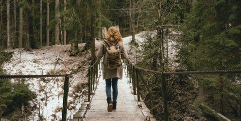 tips om in je eentje wandelen leuk te gaan vinden