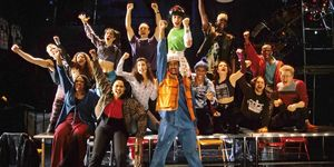 "The original cast of ""Rent"" at New York Theater Workshop, in New York."