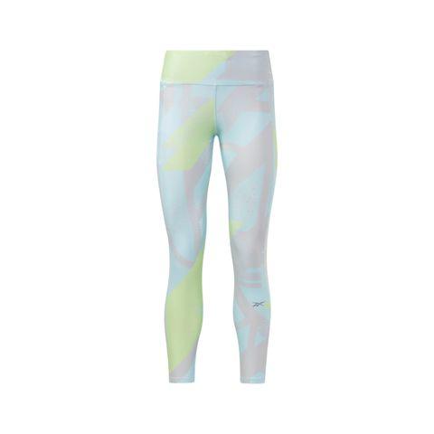 run essentials allover print legging digital glow hardlooplegging hardloopkleding sportbroek