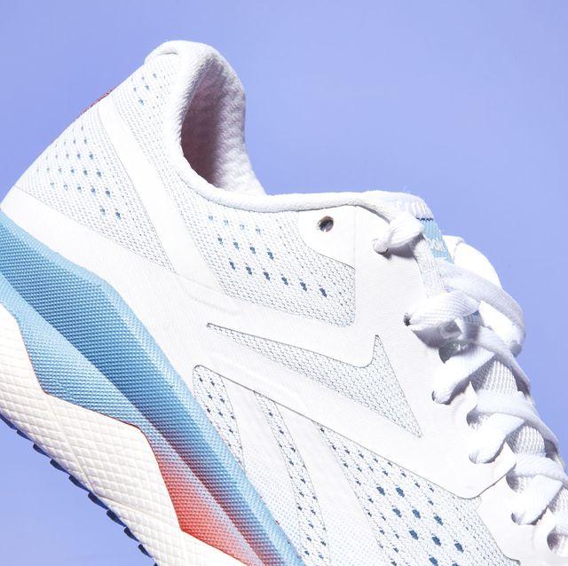footwear, white, shoe, walking shoe, outdoor shoe, sneakers, running shoe, athletic shoe, cross training shoe, electric blue,
