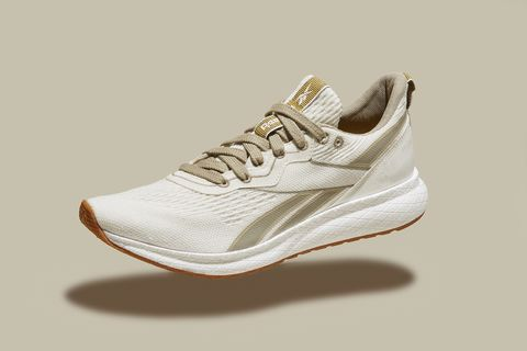Footwear, Brown, Product, Shoe, White, Athletic shoe, Sneakers, Logo, Tan, Carmine,