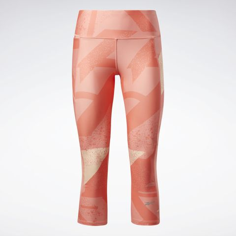 reebok all over print legging