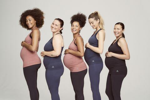 Contaminado pulgada Pedagogía  Reebok Launches New Maternity Activewear Collection