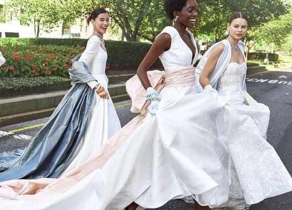 Bridal Fashion Week 2020.All The Dreamiest Looks From Bridal Week Fall 2020