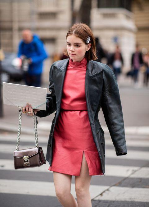 6dce413f Street Style : Paris Fashion Week Womenswear Spring/Summer 2019 : Day Nine